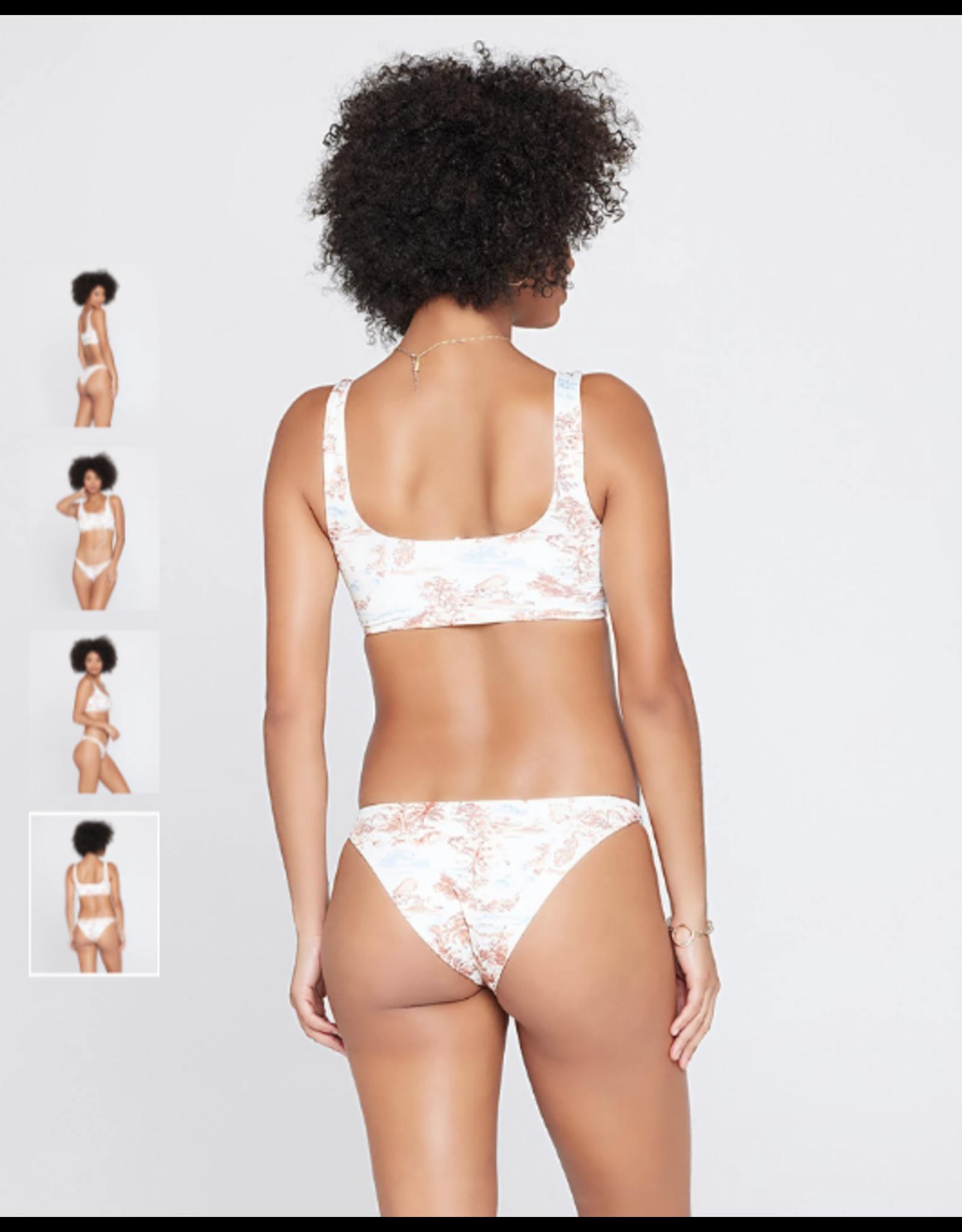 L*SPACE Eco Chic Econyl® Millie Bikini Top