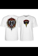 POWELL Powell Peralta Mike Vallely Vallely Elephant White Men's Short Sleeve T-Shirt