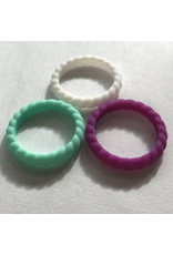 HUMANATURE STACKABLE SILICONE RINGS