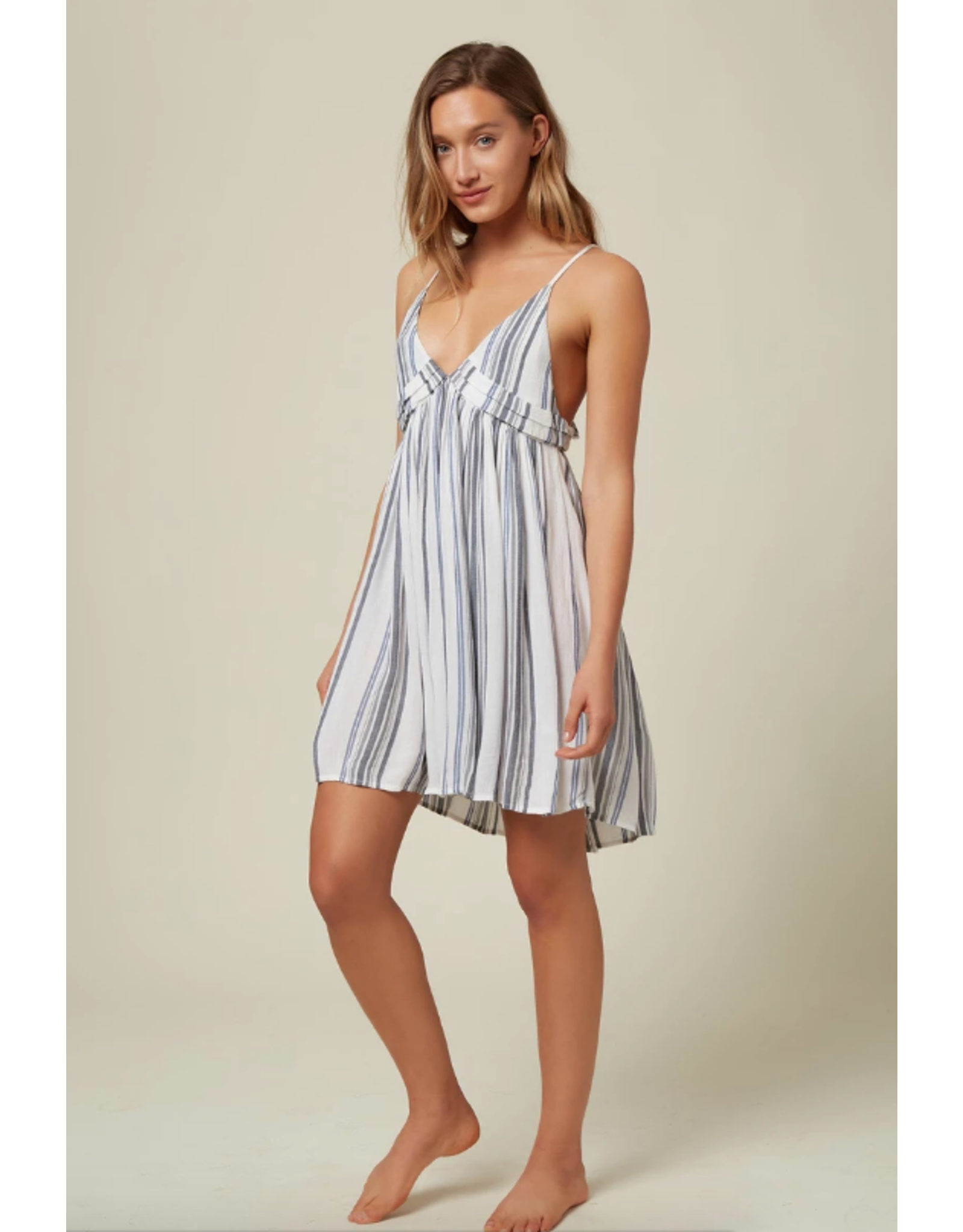 ONEILL ONEILL SALTWATER SOLIDS STRIPE TANK DRESS COVER-UP