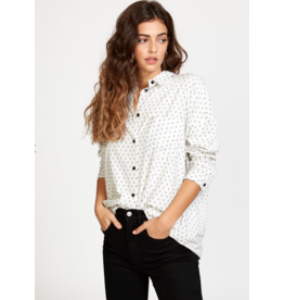 RVCA HERA OVERSIZED BUTTON-UP SHIRT