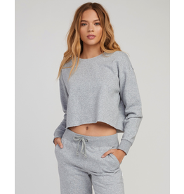 RVCA STRANGER CROPPED SWEATER