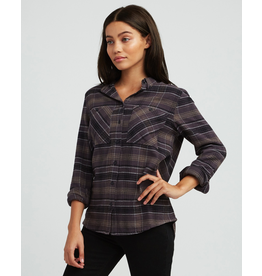 RVCA ROAM PLAID FLANNEL