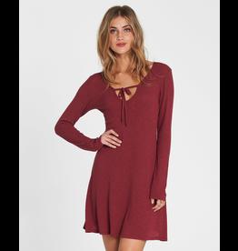 BILLABONG Walk On Long Sleeve Sweater Dress