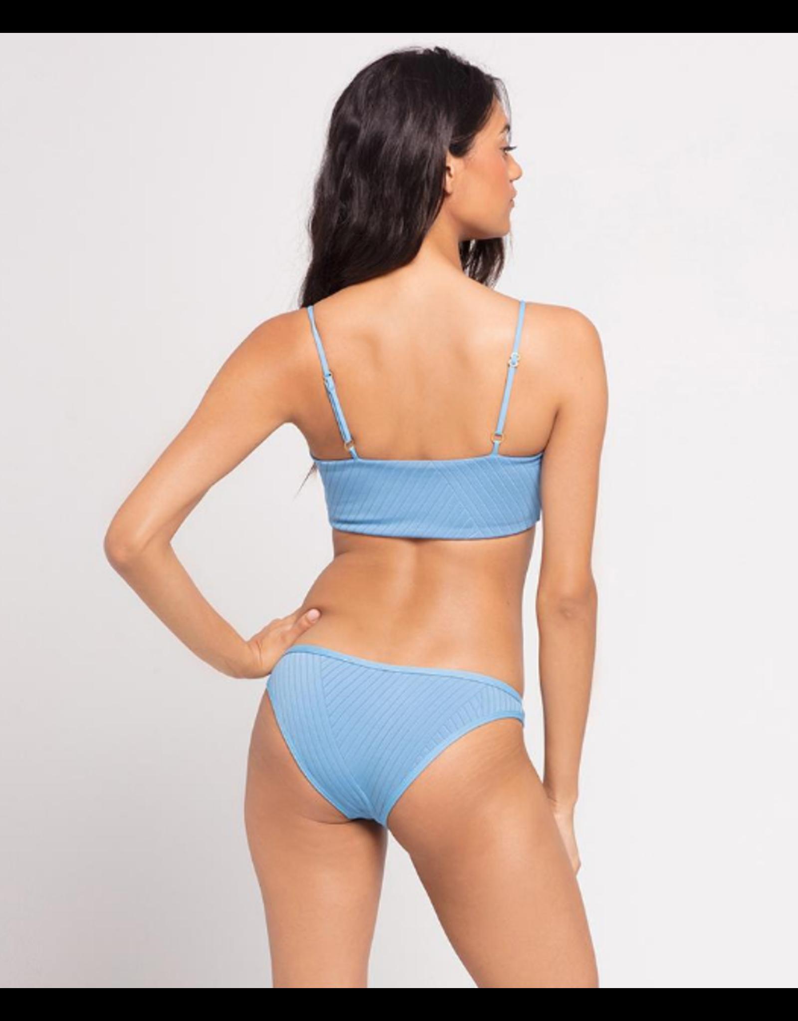 L*SPACE Crossroads Texture Cosmo Bikini Bottom