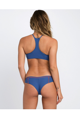 RVCA JULY RIBBED CHEEKY BIKINI BOTTOM