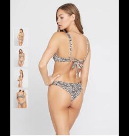 L*SPACE Shimmer Cabana Bikini Bottom