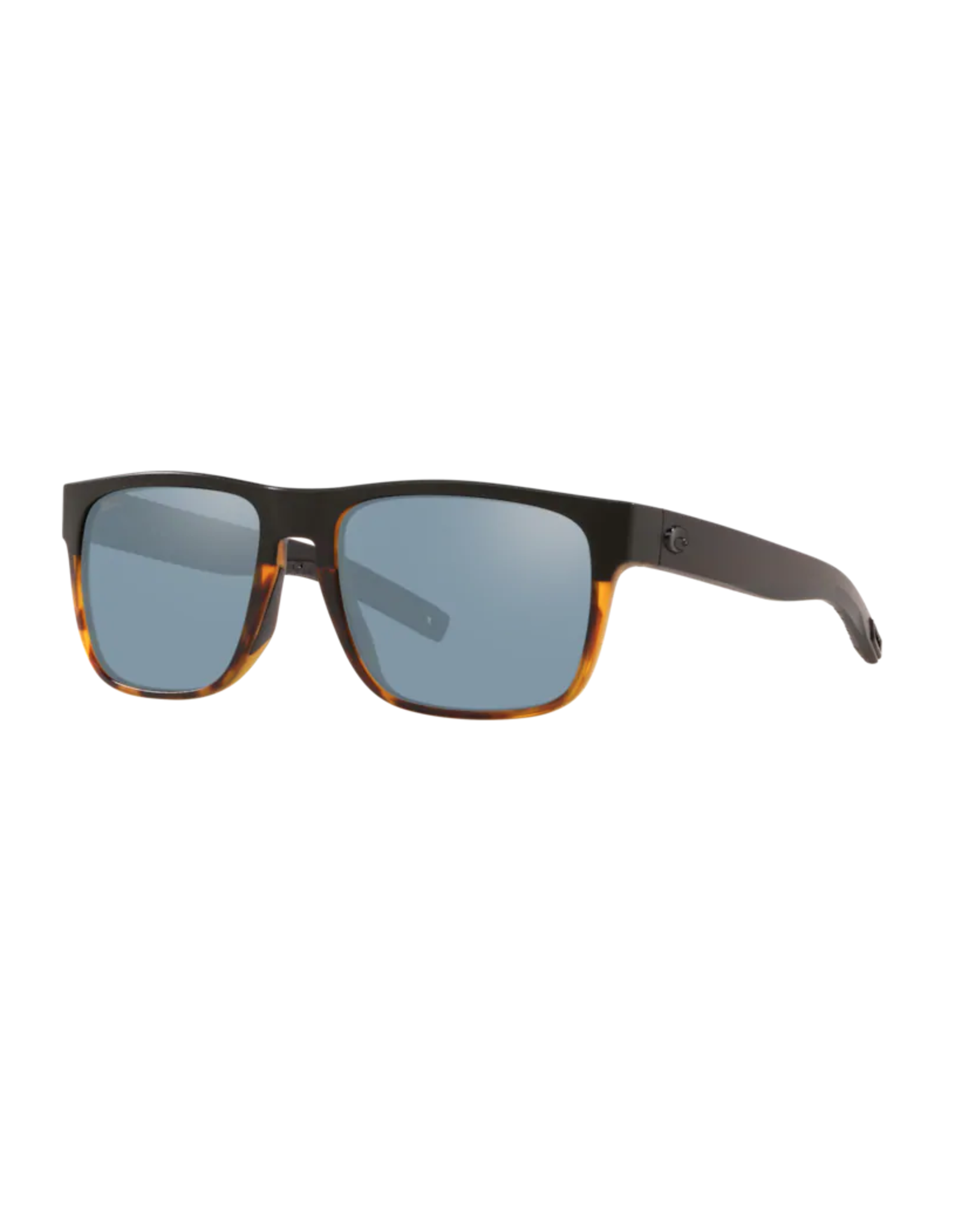 COSTA DEL MAR Spearo 181 Black/Shiny Tort/Grey Silver Mirror Polarized Plastic (580P)