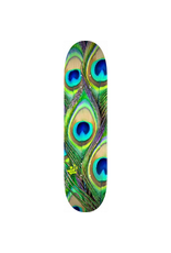 "MINI LOGO MINI LOGO PEACOCK FEATHER ""18"" SKATEBOARD DECK 244 K20 - 8.5 X 32.08"