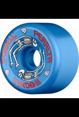 POWELL Powell Peralta G-Bones Skateboard Wheels 64mm 97a - Blue (4 pack)