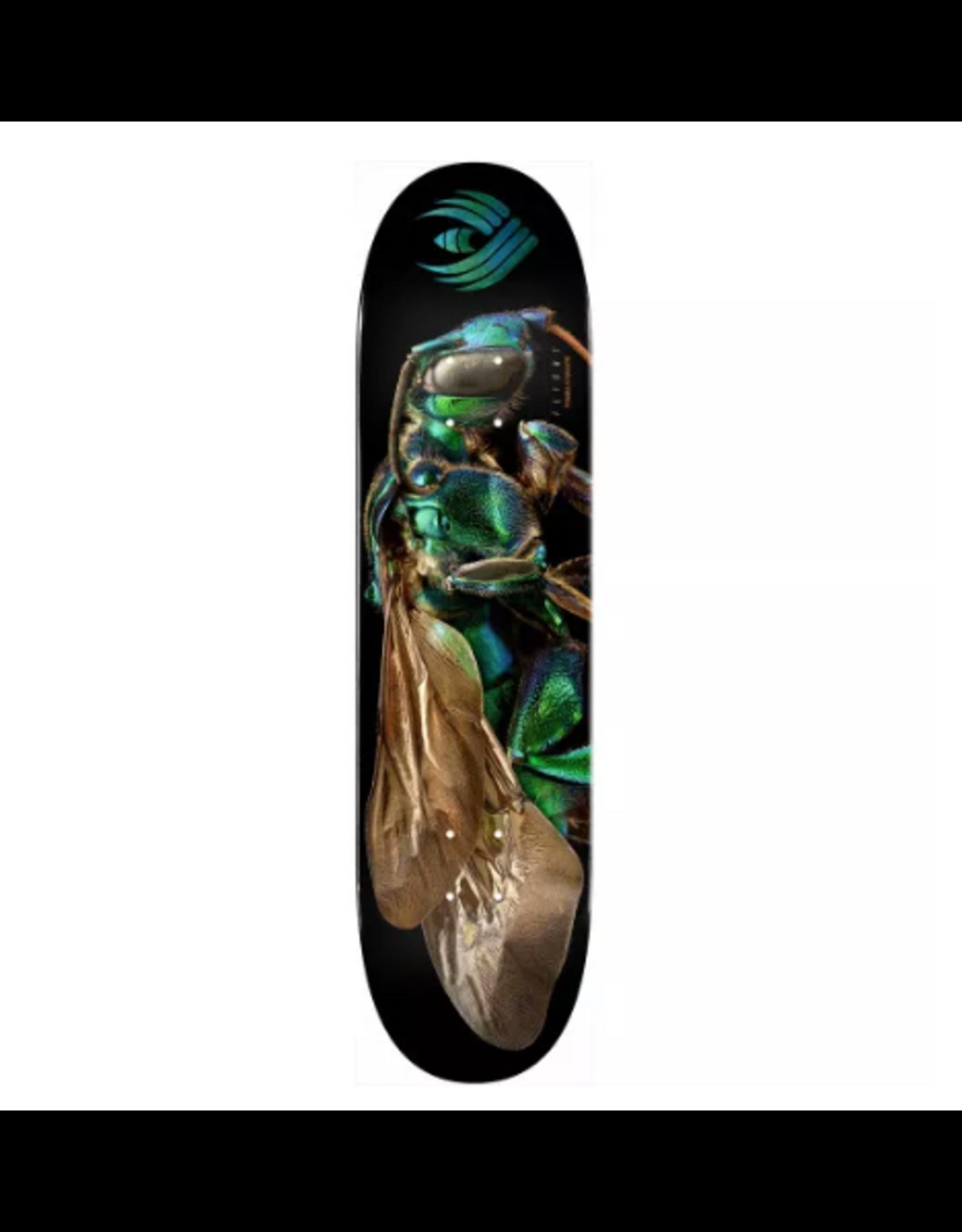 POWELL Powell Peralta Flight® Skateboard Deck BISS Cuckoo Bee - Shape 242 - 8 x 31.45