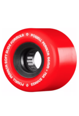 POWELL Powell Peralta Snakes Skateboard Wheels 66mm 75a 4pk Red