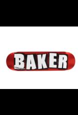 "BAKER Baker Brand Logo Foil Skateboard Deck (Mellow Concave) 8.0"""
