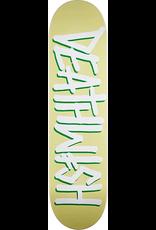 DEATHWISH DEATHWISH DEATHSPRAY SKATE DECK-8.0 PALE YELLOW