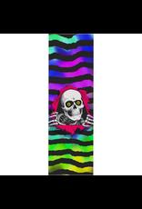 POPWAR Powell Peralta Grip Tape Sheet 10.5 x 33 Ripper Tie-dye (White)
