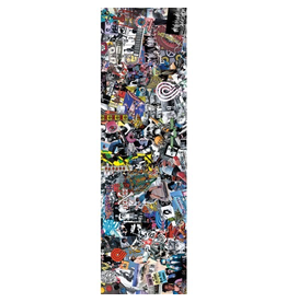 POWELL Powell Peralta Grip Tape Sheet 10.5 x 33 Collage (White)