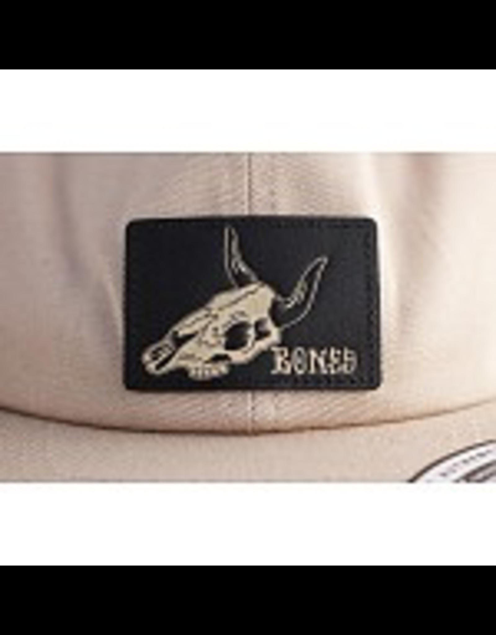 BONES BONES WHEELS Desert Skull Tan Cap