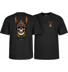 POWELL Powell Peralta Andy Anderson Skull T-Shirt - Black