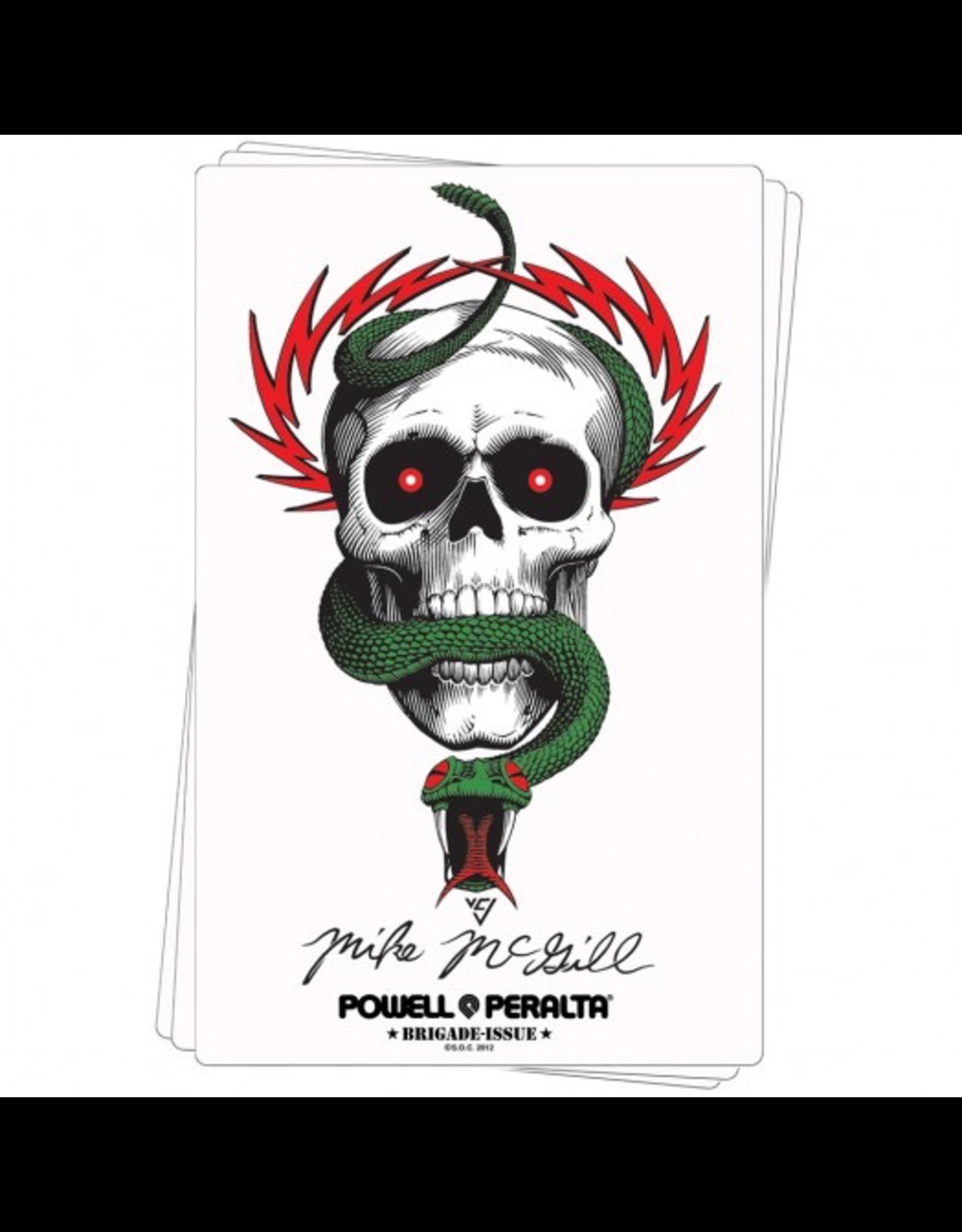 POWELL Bones Brigade® McGill Skull & Snake Sticker (20 pack)