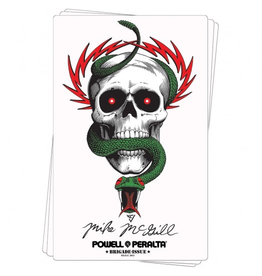 POWELL Bones Brigade® McGill Skull & Snake Sticker (20 pack)