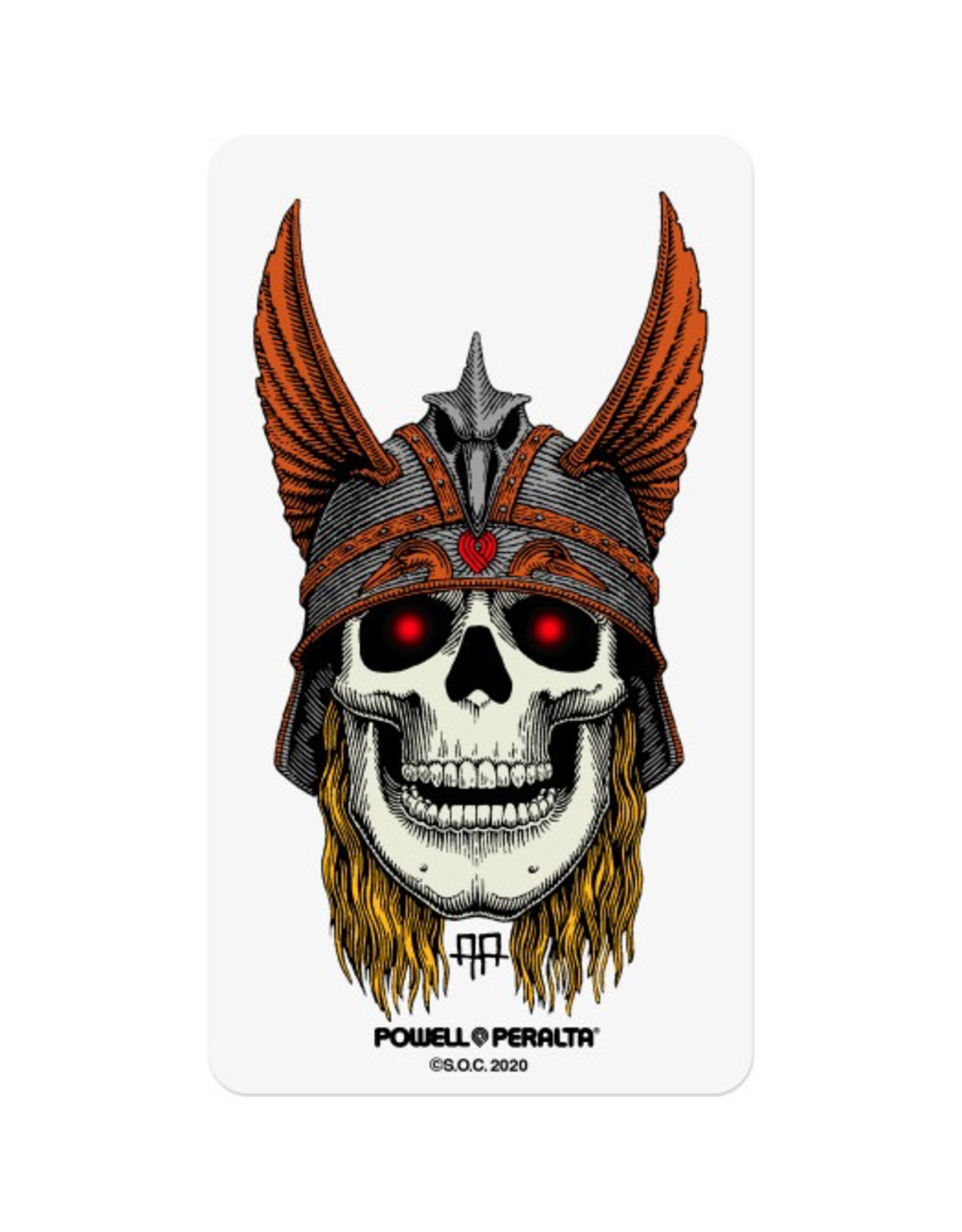 """POWELL Powell Peralta Andy Anderson Sticker - 3"""""""
