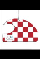 ULU LAGOON ulu logoon R/W Check Mini Wave