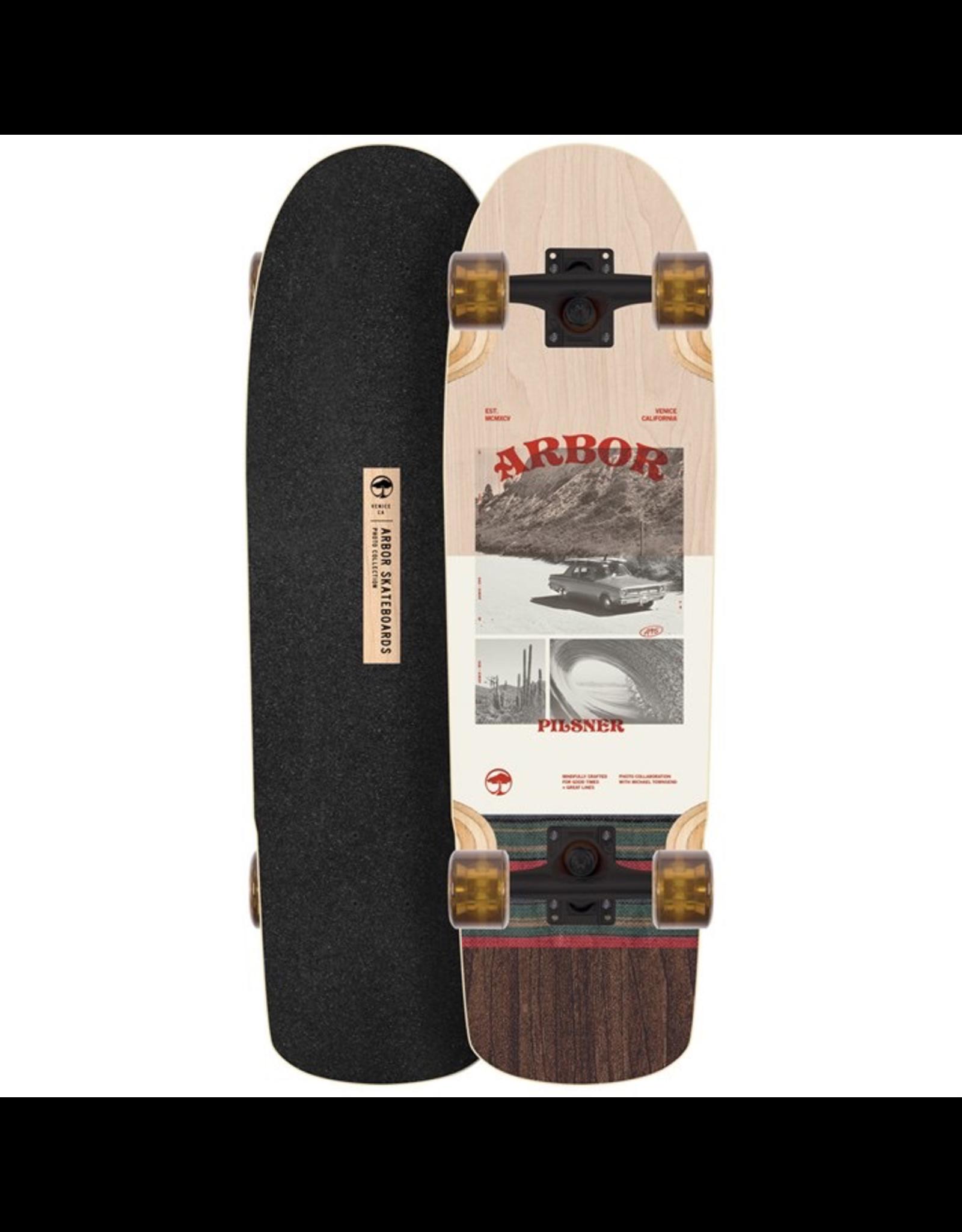 ARBOR Arbor Pilsner Photo Cruiser Skateboard Complete