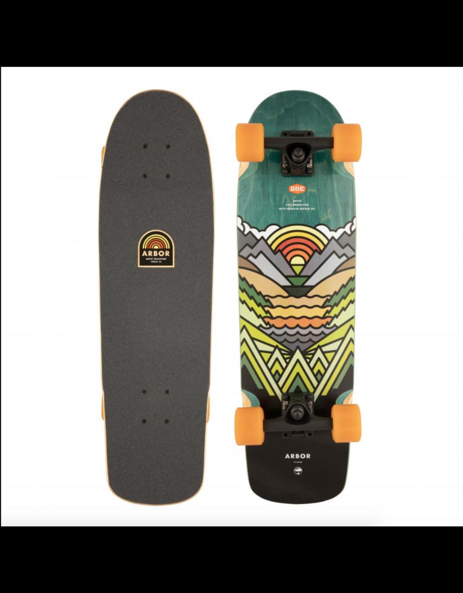 "ARBOR Arbor Collective Complete Skateboard 28.75"" Artist Pilsner ARB-COM-0083"