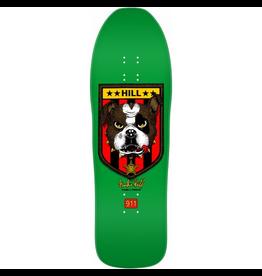 POWELL Powell Peralta Frankie Hill Bulldog Skateboard Deck Green - 10 X 31.5
