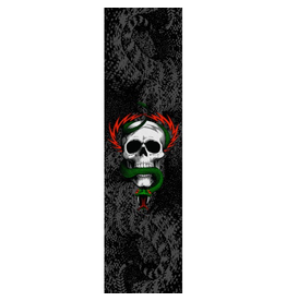 POWELL Powell Peralta Grip Tape Sheet 10.5 x 33 MCGILL AND SNAKE (Black)