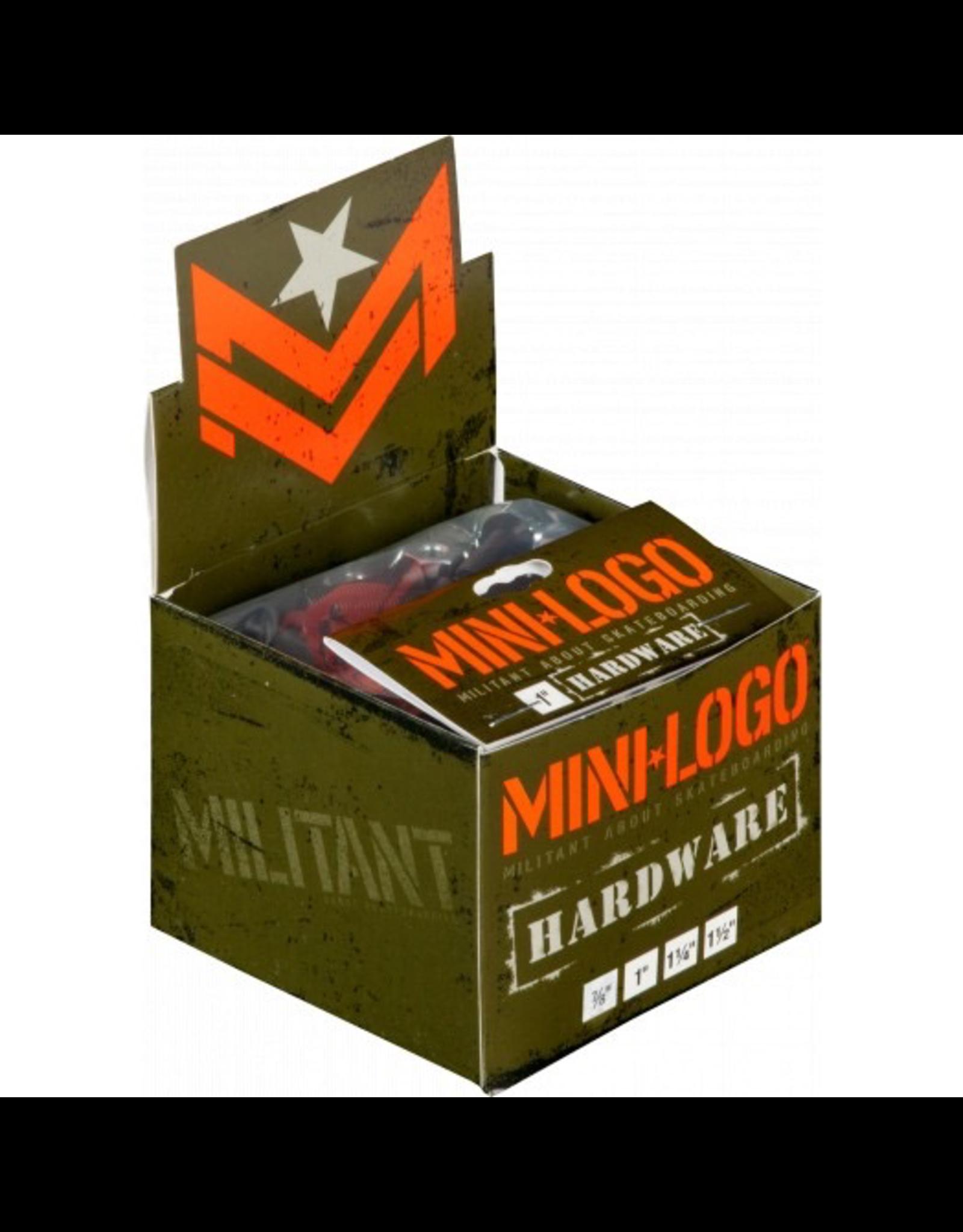 """MINI LOGO Mini Logo Hardware 1"""""""