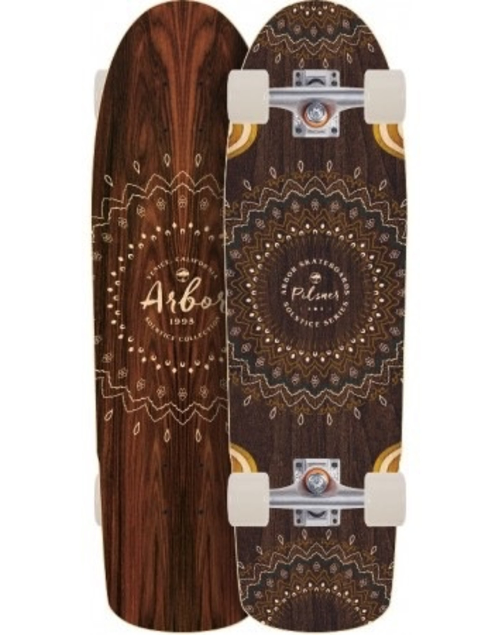 GLOBE Arbor Pilsner Solstice Longboard Skateboard Complete 2017