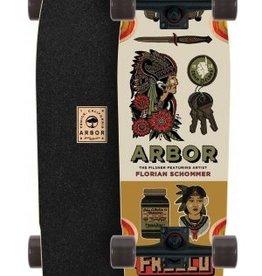 GLOBE Arbor Pilsner Artist Collection Longboard Skateboard Complete 2017