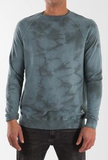 KATIN KATIN CLOUD WASH CREW-SMOKEY GREEN