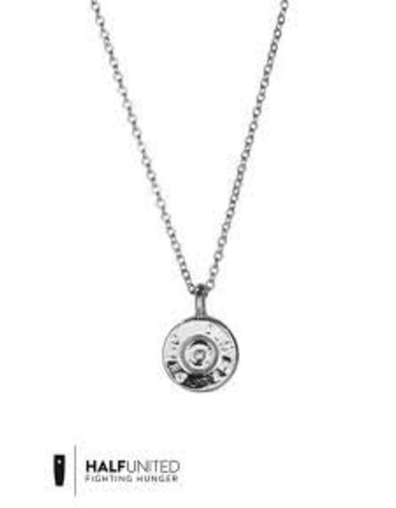 HALF UNITED Tiny Top Necklace-Silver