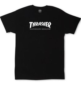 THRASHER MAG LOGO YTH SS M-BLACK