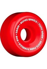 BONES HAWK WHEELS SPF MINI CUBE 58MM RED/WHITE