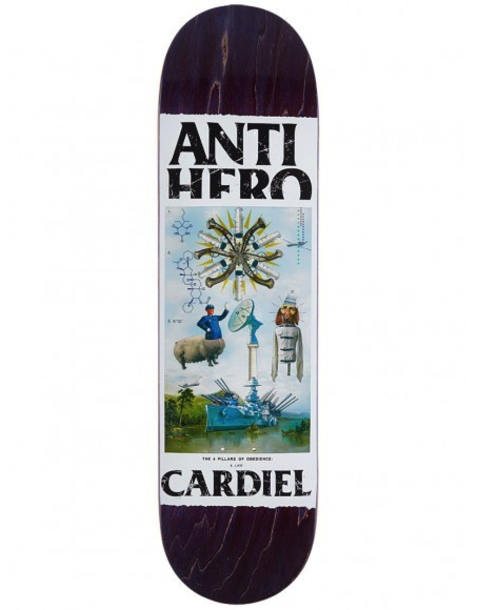 ANTI HERO AH CARDIEL FOUR PILLARS OF OB DECK 8.43