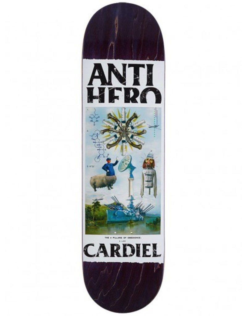 ANTI HERO AH CARDIEL FOUR PILLARS OF OB DECK 8.43