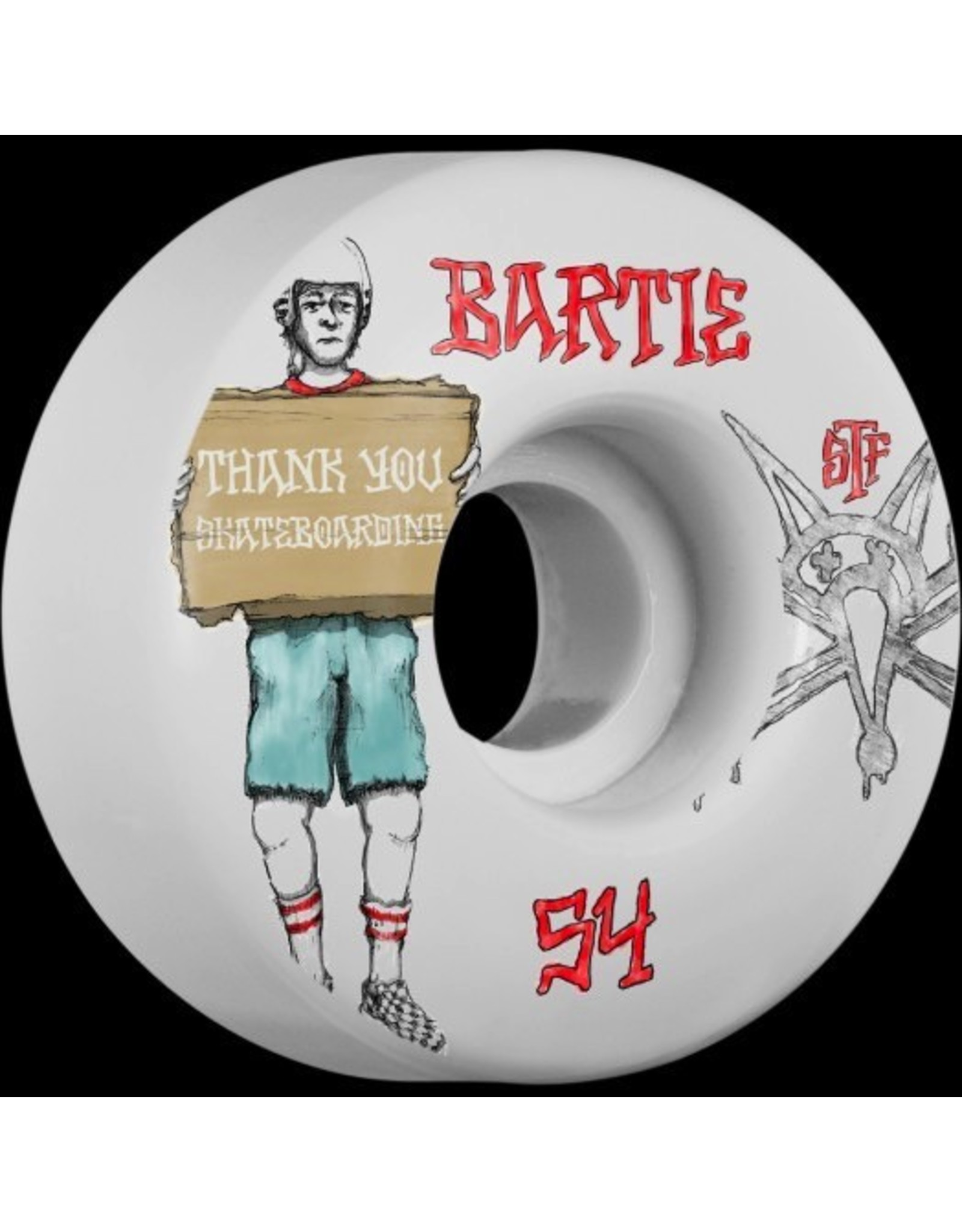 BONES BARTIE STF THANK YOU 54MM
