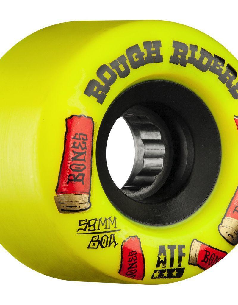 BONES ATF ROUGH RIDER SHOTGUN 59mm 80a YEL