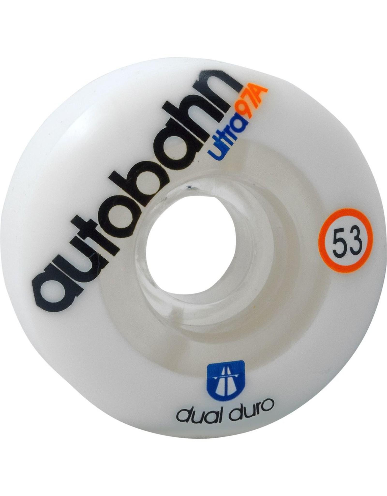 AUTOBAHN AUTOBAHN DUAL DUROMETER ULTRA 53mm 97a WHT/CLR