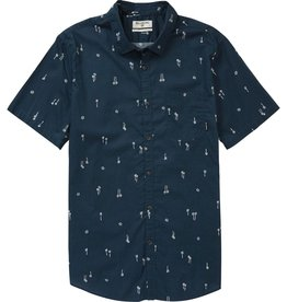 BILLABONG BOYS' SUNDAYS MINI SHORT SLEEVE SHIRT