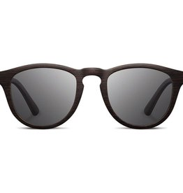 SHWOOD Francis Wood SunglassesDARK WALNUT / GREY POLARIZED