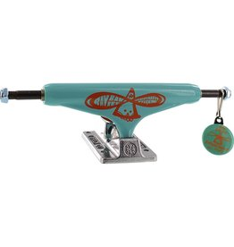 INDE BARBEE STD 159mm HOLLOW TEAL/ORG/SIL