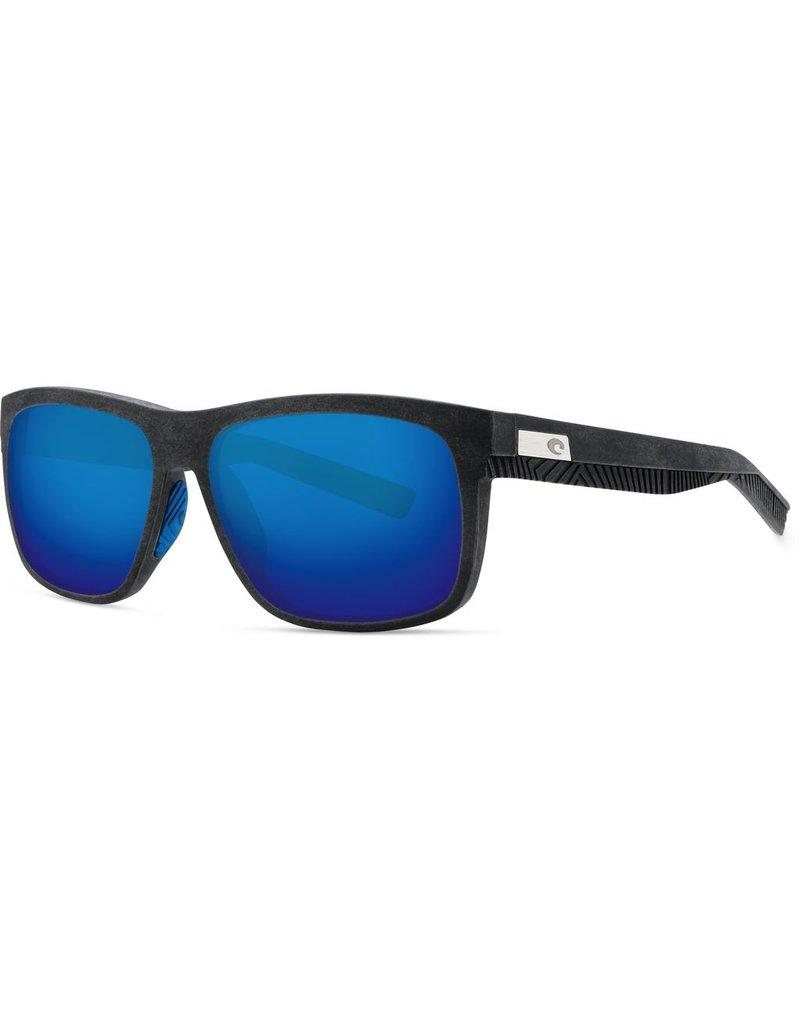 COSTA DEL MAR BAFFIN NET GRAY W/BLUE RUBBER - BLUE MIRROR 580G