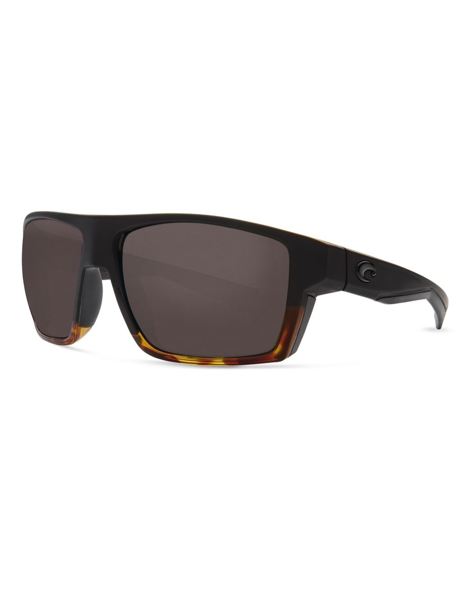 COSTA DEL MAR BLOKE MT BLACK/SH TORTOISE GRAY 580P