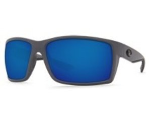Costa del Mar Reefton RFT 98 OBMGLP Matte Gray Blue Mirror 580G Polarized