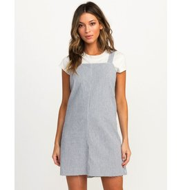 RVCA TIDE SHIFT STRIPED DRESS<br /> TIDE SHIFT STRIPED DRESS