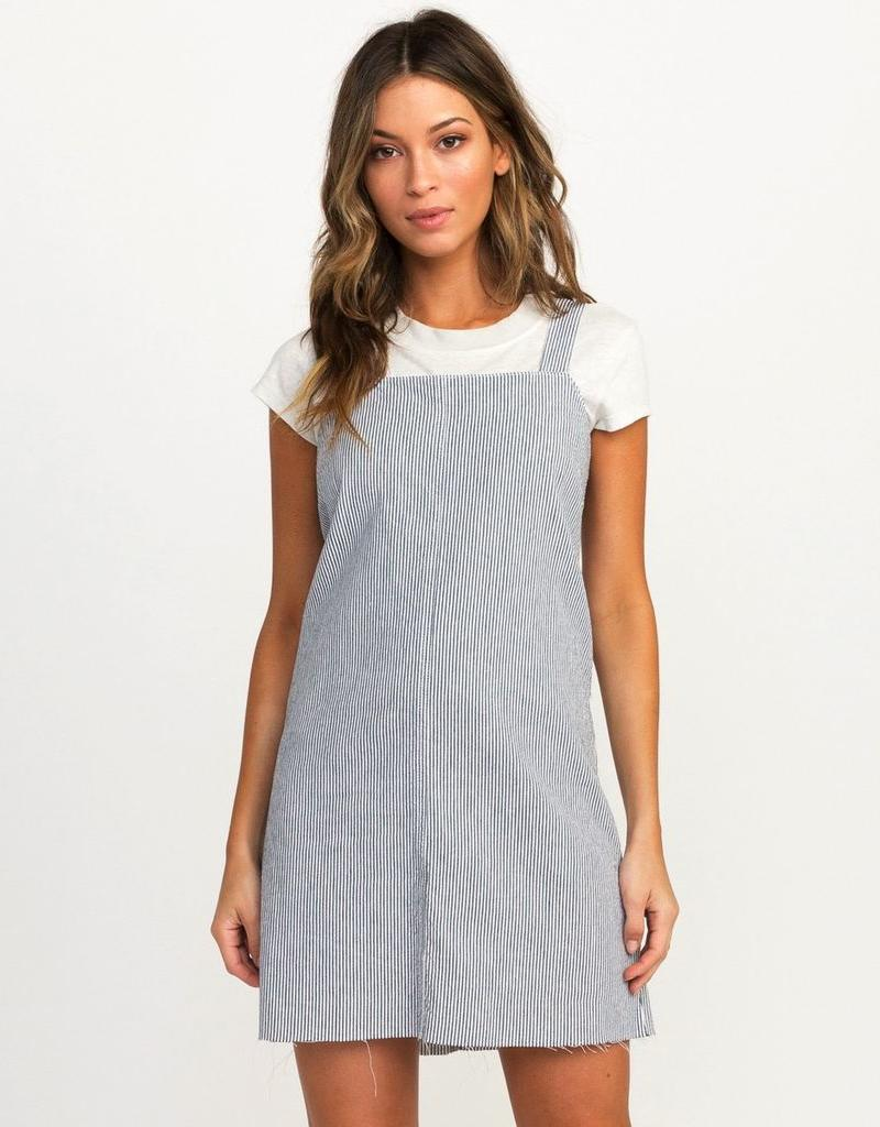 RVCA TIDE SHIFT STRIPED DRESSTIDE SHIFT STRIPED DRESS